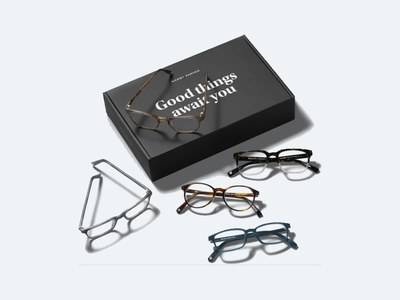 Try 5 Frames from Warby Parker for Free