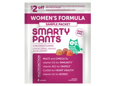 Freeosk - Sample of SmartyPants Women's Formula for Free