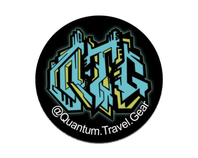 Quantum Travel Gear Sticker for Free