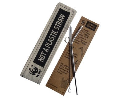 Free Reusable Straw Kit