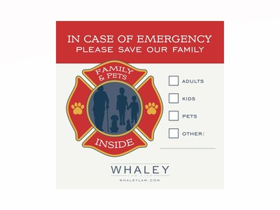 Fire Rescue Window Decal for Free