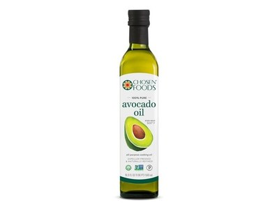 A Bottle of Chosen Foods Avocado Oil for Free