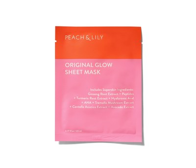 Free Samples of Peach & Lily Original Glow Sheet Mask