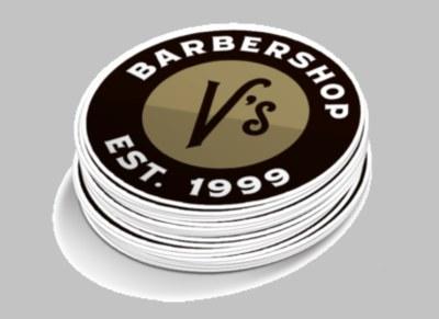 V's Barbershop Sticker for Free