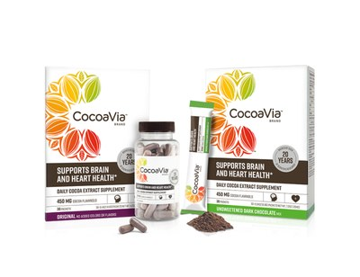 Cocoa Extract Supplement from CocoaVia for Free