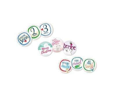 Set of Enfamil Belly Badges for Free