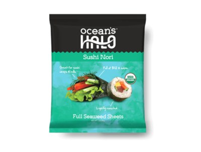 Ocean's Halo Organic Sushi Nori for Free