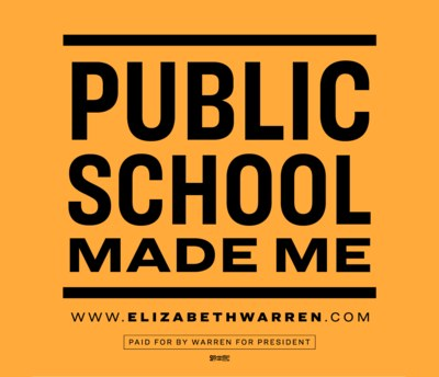 Public School Made Me Sticker for Free