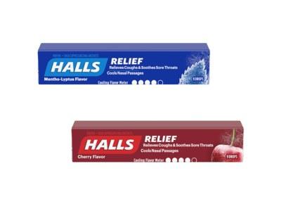 Free Halls Cough Drops - Freeosk