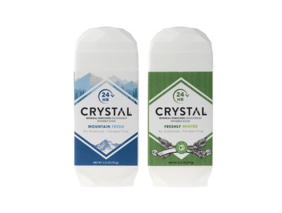 Crystal Natural Deodorant for Free
