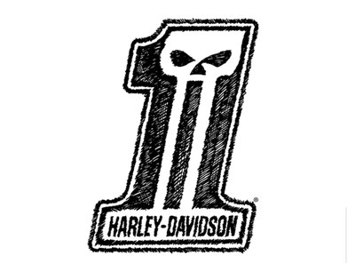 Harley-Davidson Sticker for Free