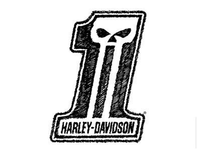 Harley-Davidson Sticker for Free