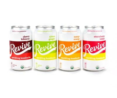 Revive Sparkling Kombucha for Free