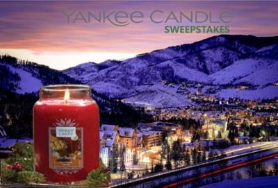 Yankee Candle - Sweepstakes
