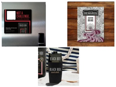 Black Box Wines Magnet, Koozie & More for Free