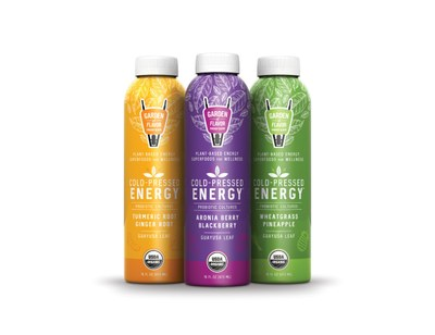 Garden of Flavor Cold Pressed Energy for Free