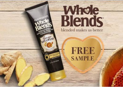 Free Sample of Whole Blends Ginger Recovery Leave-In Treatment
