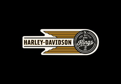 Harley-Davidson Battle of the Kings Sticker for Free