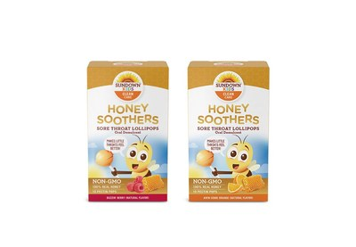Sundown Kids Honey Soothers Sore Throat Lollipops for Free