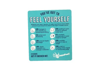 Feel Yourself Sticker for Free