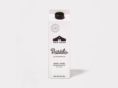 New Barn Organics Barista AlmondMilk for Free