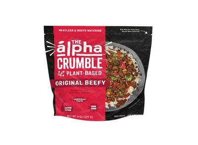 Alpha Foods Plant-Based Crumble for Free