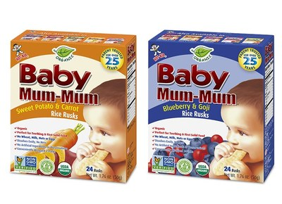 Baby Mum-Mum Organic Rice Rusks for Free