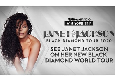 iHeart Janet Jackson Black Diamond World Tour Sweepstakes