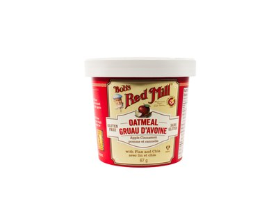 Bob's Red Mill Gluten-Free Oatmeal Cups for Free