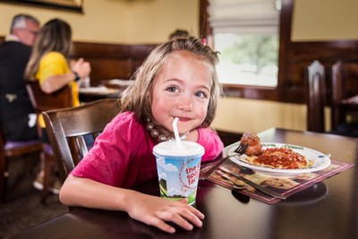 Kids Meal at The Old Spaghetti Factory for Free