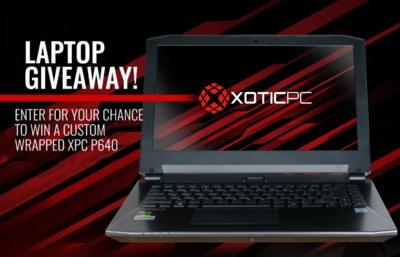 Xotic PC Laptop Giveaway