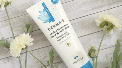 Free Sample of DERMA E's Arnica Warming Sore Muscle Rub
