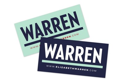 Warren Sticker for Free