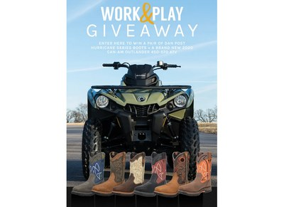 Dan Post Work & Play Giveaway
