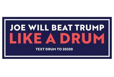 Joe Biden for President Sticker for Free