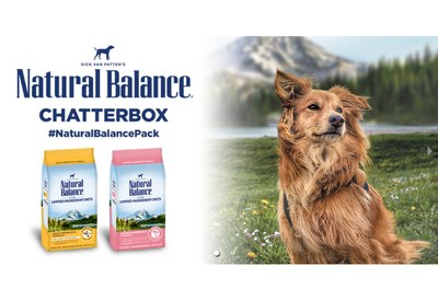Natural Balance® Pet Food Chatterbox for Free