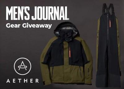 Men's Journal Snow Gear Giveaway