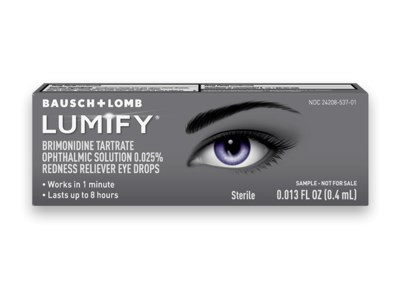 LUMIFY Eye Drops for Free