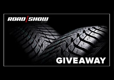 CNET Roadshow New Tire Sweepstakes