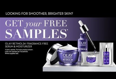 Olay Retinol24 Serum & Moisturizer for Free