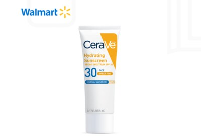 CeraVe Hydrating Mineral Sunscreen for Free