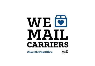 We Love Mail Carriers Sticker for Free
