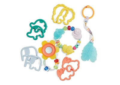 Infantino Teethers & Rattles Baby Gift Set for Free