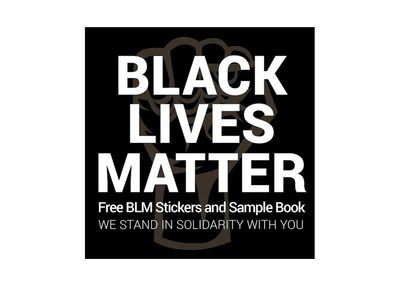 Black Lives Matter Sticker for Free
