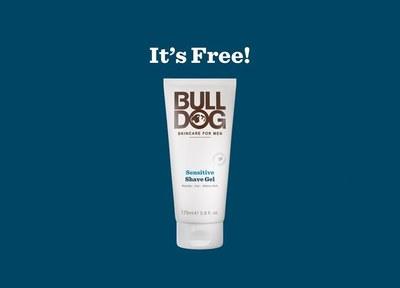 Bulldog Skincare Sensitive Shave Gel for Free