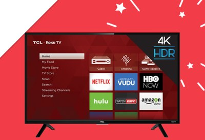 Win Two TCL Roku TVs from Ellen DeGeneres