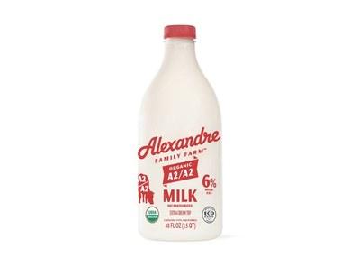 Alexandre Family Farm Organic Milk for Free