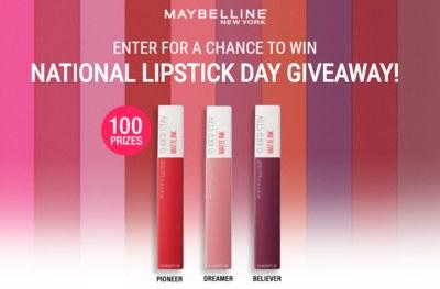 SuperStay Matte Ink Liquid Lipstick for Free