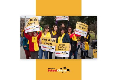 National School Choice Week Wristbands, Stickers & More for Free