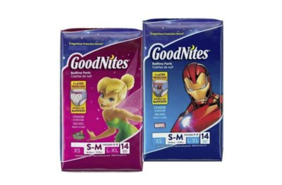 Free Sample of Goodnites® Nighttime Underwear